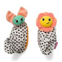infantino® Bug and Sunflower Foot Rattles (Set of 2)