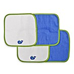 Neat Solutions® 4-Pack Washcloth Set in Blue Whale