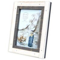 Prinz Shoreline 5-Inch x 7-Inch Picture Frame in Grey/White