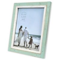 Prinz Shoreline 8-Inch x 10-Inch Picture Frame in Green/White