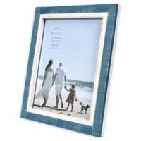Prinz Shoreline 8-Inch x 10-Inch Picture Frame in Blue/White