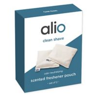 Alio Clean Shave Scented Freshener Pouches (Set of 2)