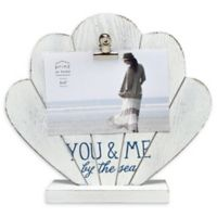 Prinz You and Me By The Sea 4-Inch x 6-Inch Picture Frame in White