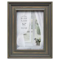 Prinze Cottage 5-Inch x 7-Inch Picture Frame in Grey