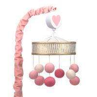 Lambs & Ivy® Layla Musical Mobile in Pink/Golden