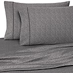 Wamsutta® 400 Thread Count Pebble Printed Twin Sheet Set in Grey