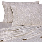 Wamsutta® 400 Thread Count Vine Printed King Sheet Set in Taupe
