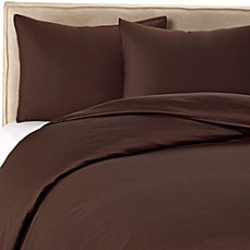 Wamsutta® 400 Duvet Cover Set in Chocolate