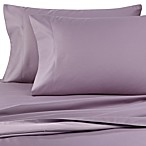 600 Thread Count Reversible Queen Sheet Set in Orchid