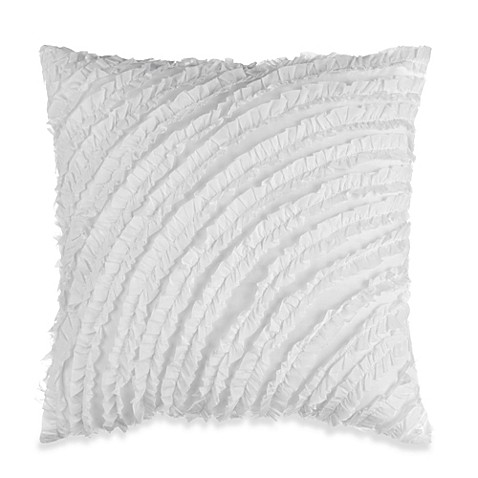 KAS® Penny Ruffle Square Toss Pillow