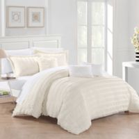 Chic Home Daza 10-Piece King Comforter Set in Beige