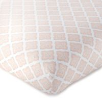 Levtex Baby® Heritage Organic Geometric Fitted Crib Sheet in Blush