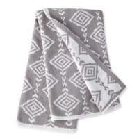Levtex Baby® Heritage Geometric Chenille Blanket in Grey
