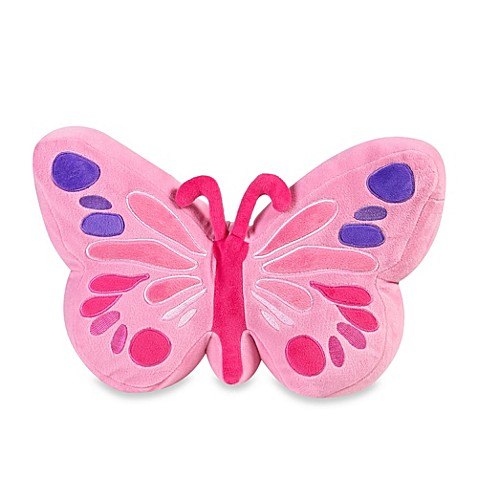 Kas 174 Kids Lexie Butterfly Toss Pillow Bed Bath Amp Beyond