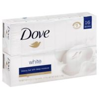 Dove 16-Count White Beauty Bar Soap