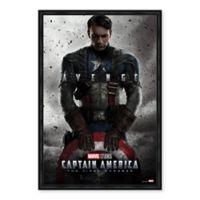 Marvel® Captain America Framed Canvas Art