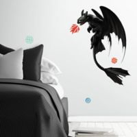 RoomMates® 11-Piece Toothless Giant Vinyl Wall Decal Set