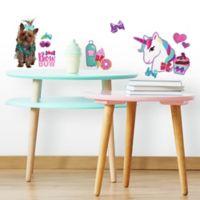 RoomMates® 23-Piece Jojo Siwa Cute and Confident Glitter Vinyl Wall Decal Set