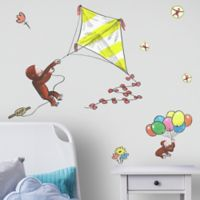 RoomMates® 8-Piece Curious George Flys a Kite Vinyl Wall Decal Set
