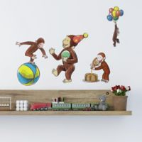 RoomMates® 22-Piece Curious George Vinyl Wall Decal Set