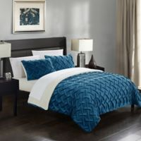 Chic Home Thirsa 7-Piece Queen Comforter Set in Teal