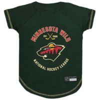 NHL Minnesota Wild Medium Pet T-Shirt