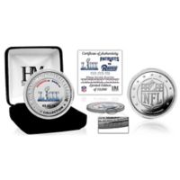 NFL New England Patriots Super Bowl LIII Post Season Silver Plated Victory Coin Collection