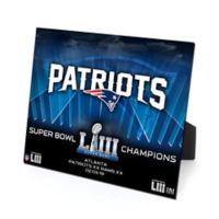 NFL New England Patriots Super Bowl LIII Champions PleXart