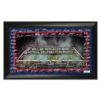 NFL New England Patriots Super Bowl LIII Champions Signature Grid Frame