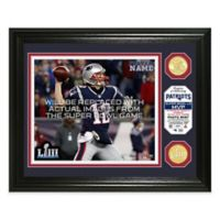 NFL New England Patriots Super Bowl LIII MVP Bronze Coin Photo Mint