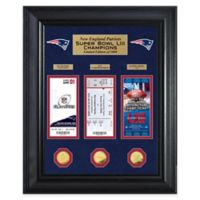 NFL New England Patriots Road to Super Bowl LIII Gold Coin & Ticket Collection