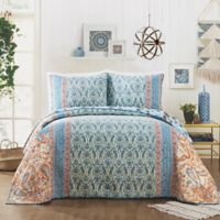 Jessica Simpson Salina King Quilt in Blue