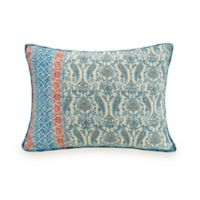 Jessica Simpson Salina Standard Pillow Sham in Blue