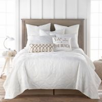 Levtex Home Cape Verde King Quilt in White