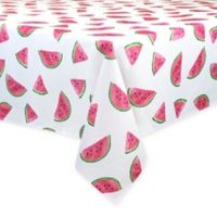 Colordrift Fresh Watermelon 60-Inch x 104-Inch Oblong Tablecloth