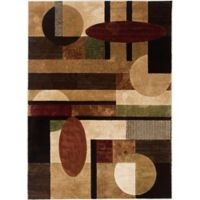 Home Dynamix Tribeca Contemporary 3-Foot 3-Inch x 4-Foot 7-Inch Accent Rug in Multicolor