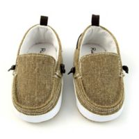 Rising Star™ Size 9-12M Twin Gore Shoe in Tan