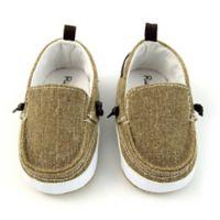 Rising Star™ Size 6-9M Twin Gore Shoe in Tan