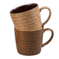 Denby Studio Craft Mugs in Brown (Set of 2)