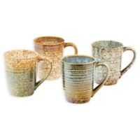Sango Crafton Mixed Mugs (Set of 4)