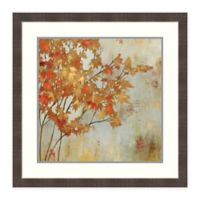 Amanti Art Golden Foliage by Asia Jensen 28-Inch Square Framed Print