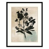 Amanti Art Inky Floral III by Asia Jensen 25-Inch x 31-Inch Framed Print