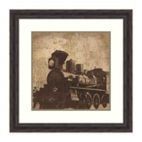 Amanti Art Train Travel by Pied Piper 25-Inch Square Framed Print
