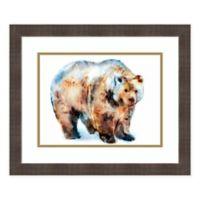 Amanti Art Bear by Edward Selkirk 22-Inch x 19-Inch Framed Print