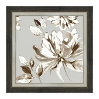 Amanti Art Botanical Gray I 22 -Inch Square Framed Canvas Wall Art