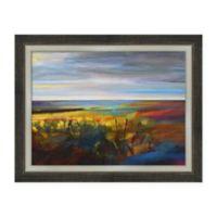 Amanti Art Buttercups Near Warley 27 -Inch X 21 -Inch Framed Canvas Wall Art