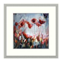 Amanti Art Enraptured by Holly Van Hart 22 -Inch Square Framed Wall Art