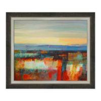 Amanti Art Early Morning Light 27 -Inch X 23 -Inch Framed Canvas Wall Art