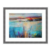 Amanti Art Soft Morning Light 32 -Inch X 26 -Inch Framed Wall Art