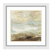 Amanti Art Ocean Blue Gold Version 30 -Inch X 30 -Inch Framed Wall Art